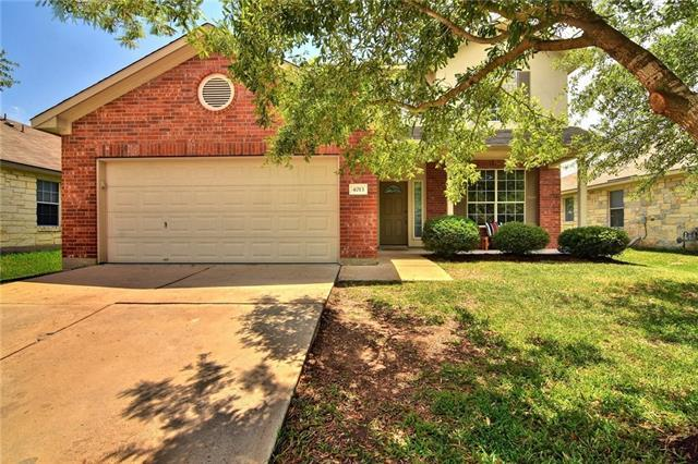 Photo of home for sale at 4013 Rocky Shore LN, Pflugerville TX