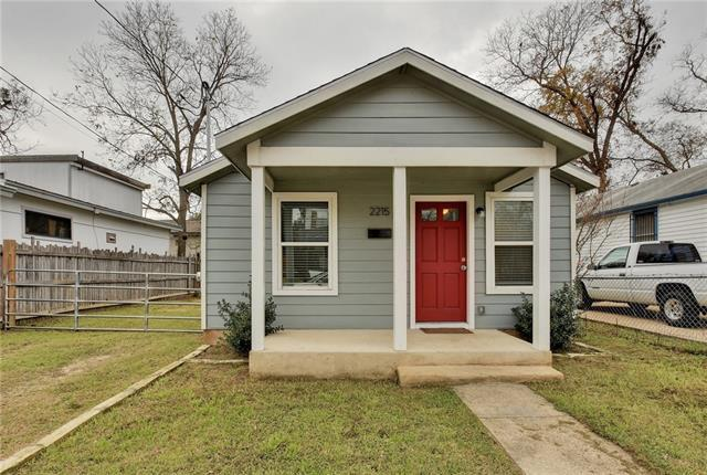 Photo of home for sale at 2215 Santa Rita ST, Austin TX