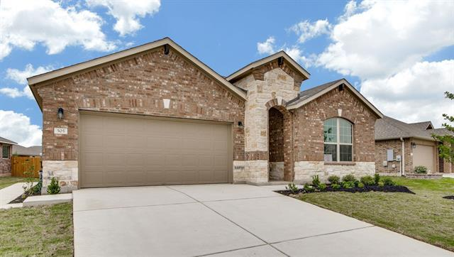 Photo of home for sale at 505 Heinatz Flat LN, Leander TX