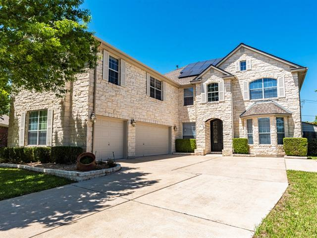 Photo of home for sale at 1232 Canyon Maple RD, Pflugerville TX