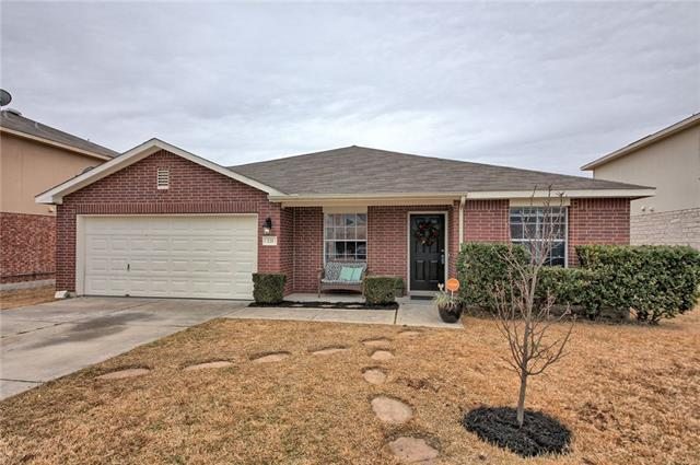 Photo of home for sale at 221 Holman PATH, Hutto TX