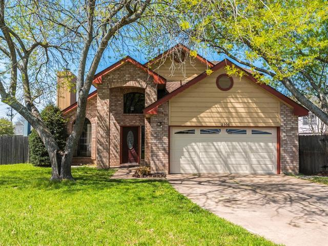 Photo of home for sale at 2305 Silverleaf CV, Round Rock TX