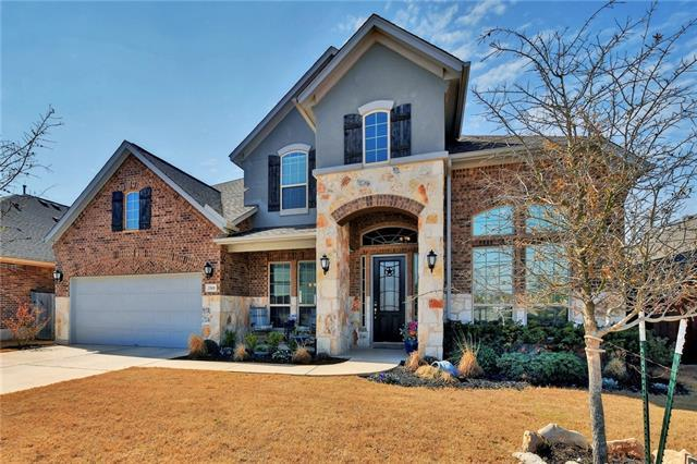 Photo of home for sale at 2501 Shumard Bluff DR, Leander TX